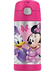 Thermos FUNtainer Insulated Drink Bottle, 355ml, Disney Minnie Mouse, F4017MM6AUS