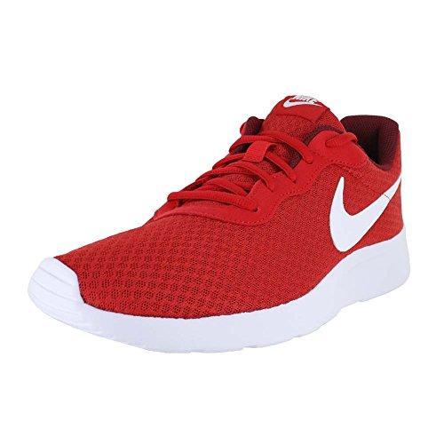 (Nike Mens Tanjun Running Sneaker University Red/Team Red/White 10.5)