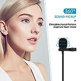 Professional Lavalier Microphone,KinCam Clip-on