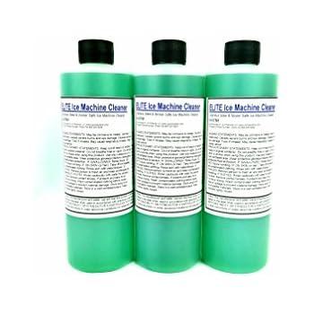 Elite Ice Machine Cleaner- (3) 16 oz bottles