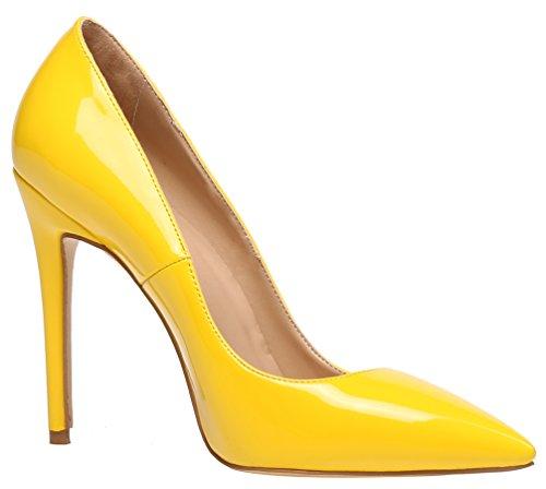 Escarpins AP2N Femme Lackleder pour Gelb AOOAR x5YwqOTq