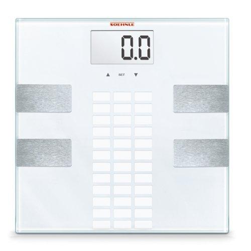Soehnle Personal Weighing Scale Easy Shape, Digital, Bathroom Scale, BIA Measurement, 150kg, 63815 by Soehnle