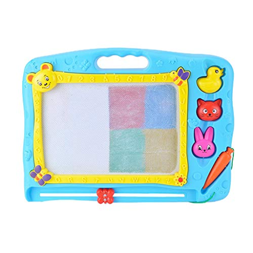 Belloc 2019 Kid Color Magnetic Writing Painting Drawing Graffiti Board Toy Preschool Tool GN]()