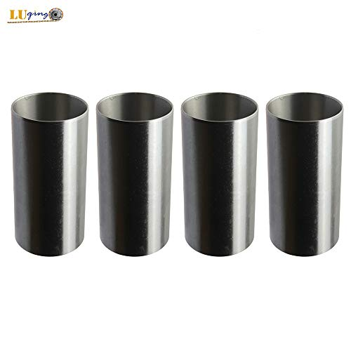 4pcs Liner/sleeve Set for Kubota V1902 Bobcat 231 New Holland L553 555