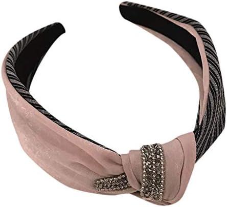 UFODB Haarband Stirnband Damen Haarbänder Haarschmuck Sport SchweißBand Für Frauen Elastische Kopf Band Rutschfeste Sportliche Feuchtigkeit Wicking Headwear