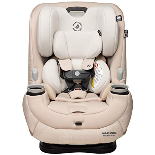 Maxi-Cosi Pria Max 3-in-1 Convertible Car Seat, Nomad Sand, One Size, New Nomad Sand