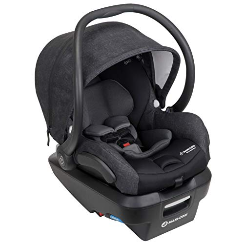 Maxi-Cosi Mico Max Plus Infant Car Seat with Base, Nomad Black, One Size (Maxi Cosa Pria 70)