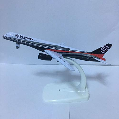 Marreto 16Cm Plane Model Boeing757 Sf Airlines Aircraft Sf B757 Metal Simulation Airplane Model for Kids Toys