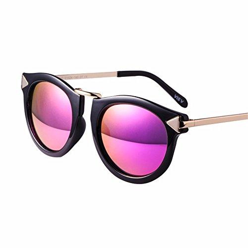 LXKMTYJ Gafas De Sol De Señora De Los Hombres Tide Corea Película De Color  De La 3174f75f2821