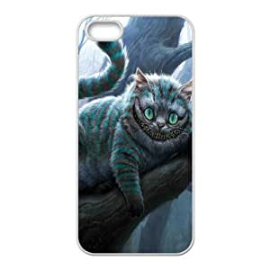 Cheshire Cat on Tree Case For Iphone 6 Plus 5.5 Inch Cover Cases for Girls Protective, Case For Iphone 6 Plus 5.5 Inch Cover Teen Girls Cheap [White]