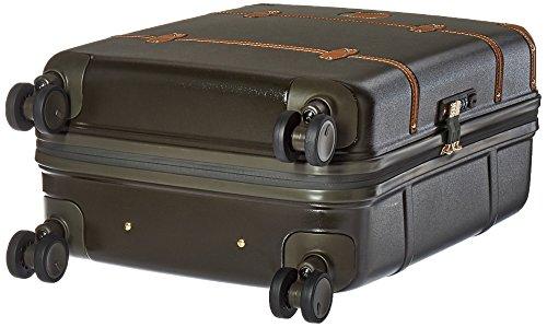 Brics Bellagio Laptop Rollkoffer, 55 cm, Blau (Blue/tobacco) Grün (Olive)