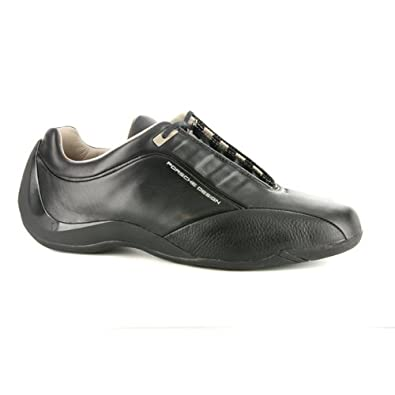 buy popular b10bb cfda4 Mens Adidas Porsche Design Racer Black Leather Trainers UK ...