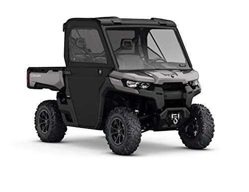 CAN-AM DEFENDER (UR) BLACK COMPLETE SOFT CAB ENCLOSURE KIT #715002917