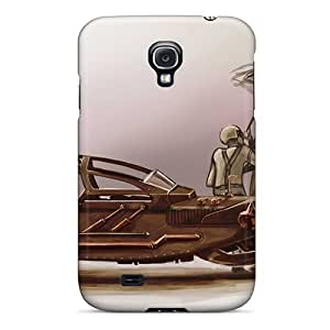 New Cute Funny Steampunk Car Case Cover/ Galaxy S4 Case Cover