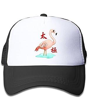 Flamingos Lovers Tai Chi Baby Baseball Cap Cute Hat