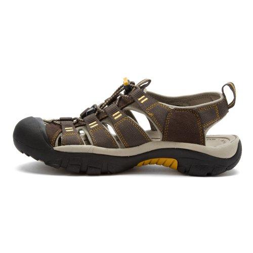 KEEN Herren Newport H2 Sandale Rabe / Aluminium