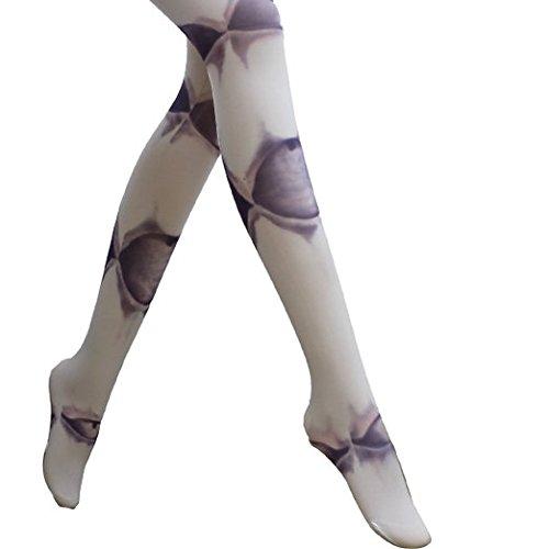 GIANCOMICS Smart Printed Pantyhose Sexy Girl Stockings Tattoo Tights S106
