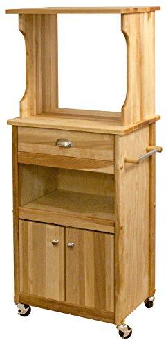 Catskill Craftsmen Hutch Top Cart with Open - Open Catskill Craftsmen Storage