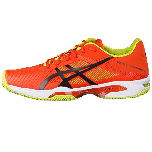 Asics GEL-SOLUTION SPEED 3 CLAY Zapatillas Deportivas Hombres orange-black-lime