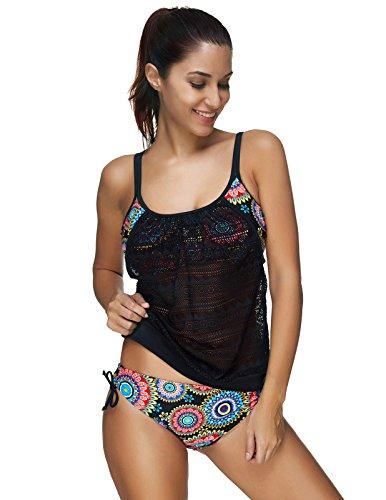 Zexxxy Pieces Tankini Swimsuits Swimwear product image