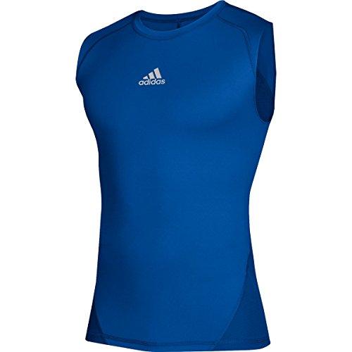 (adidas Training Alphaskin Sport Sleeveless Tee, Collegiate Royal, X-Large)