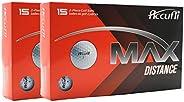 Accufli Max Distance Golf Balls