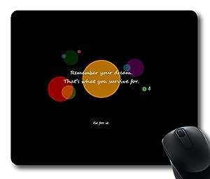 Design Mouse Pad Desktop Laptop Mousepads Go For It Comfortable Office Mouse Pad Mat Cute Gaming Mouse Pad