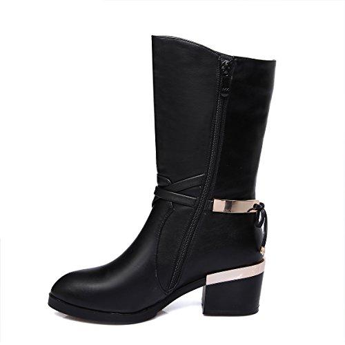 Nine SevenMid-calf Boots - Botas mujer negro