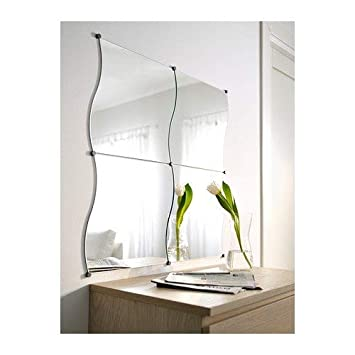Amazon.de: Ikea Krabb Spiegel - 4 x (44 x 40 cm) Vier ...