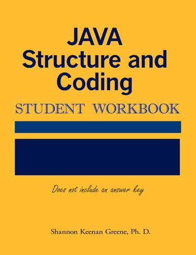 (Java Structure and Coding Student Workbook)