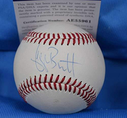 GEORGE BRETT PSA DNA Coa Autograph Hand Signed Baseball