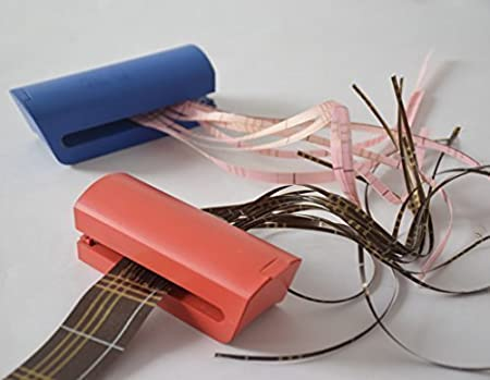 rspac tm ribbon shredder and ribbon curler with metal teeth gift