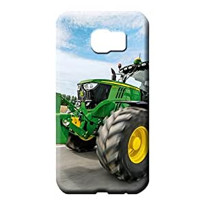 samsung galaxy S7 edge Collectibles Back New Snap-on case cover mobile phone carrying cases john deere famous top?brand logo