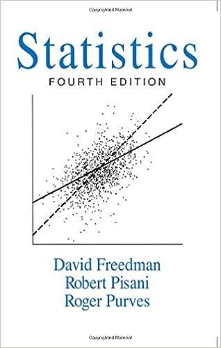 statistics 4th edition david freedman free download