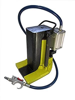 10 Air Ton Hydraulic Toe Jack Ram Machine Lift Cylinder QD-10Q
