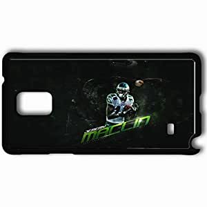 Personalized Samsung Note 4 Cell phone Case/Cover Skin 14307 Jeremy Maclin Black