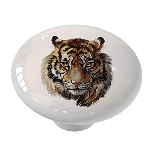 (Proud Tiger Drawer/Cabinet Knob by Gotham Decor)