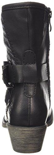 Donna Nero black Tozzi comb schwarz 25324 Ant 096 Stivali Marco qnw7xBCaB