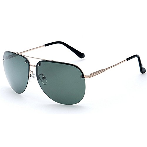 My.Monkey Fashion Uv protection Sunglasses with Polarized Lenses For Man And Women - Sunglasses Rimless Cartier