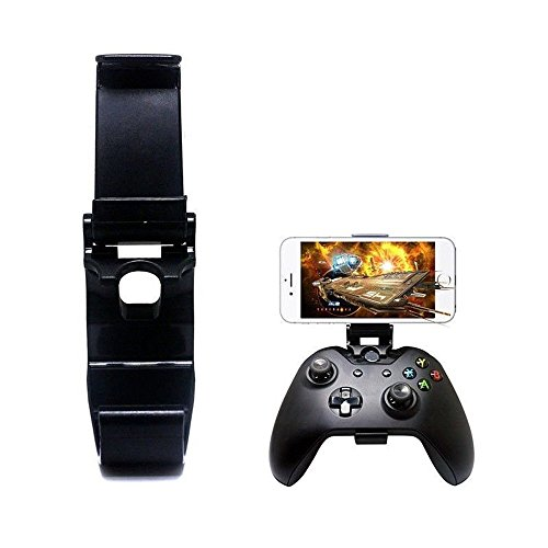 Dainslef [New Version] Xbox One Controller Foldable Mobile Phone Holder Smartphone Clamp Game Clip For Microsoft XBOX One S Game Controller Steelseries Nimbus For Iphone Samsung Sony HTC LG Huawei
