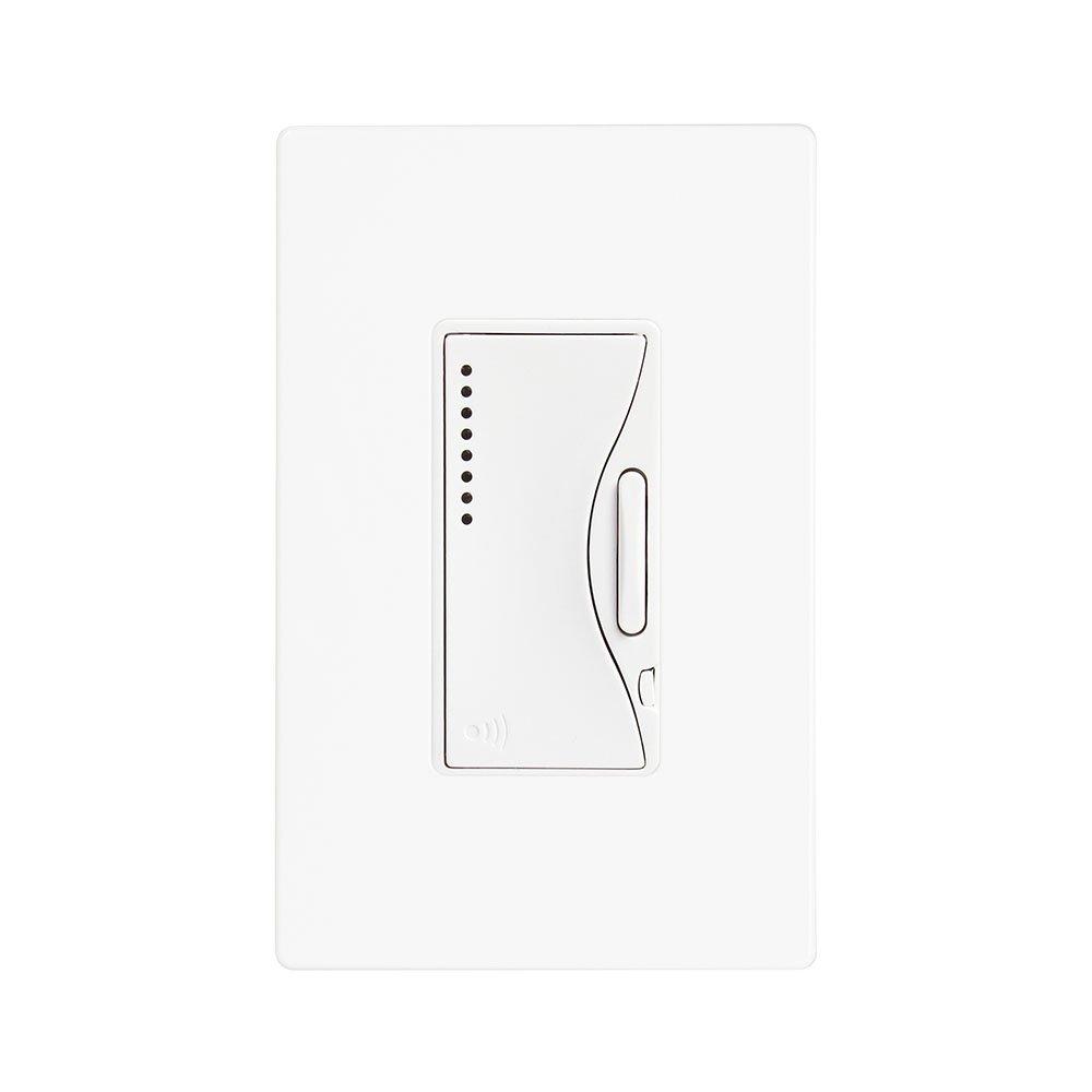 Eaton RF9540-NAW ASPIRE Single-Pole Multi-Location Master Dimmer Light Switch, Alpine White