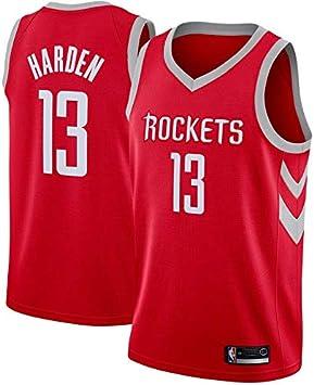 Houston Rockets #13 Swingman Ricamata L, Rosso Icon 2019 canottejerseyNBA James Harden Abbigliamento Sportivo Basket Jersey Maglia Canotta