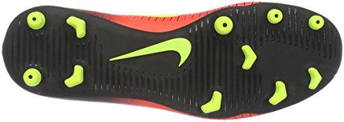 Nike Mercurial Mens Vortice Fg Tacchetto Calcio Totale Cremisi Volt Nero Rosa