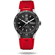 TAG Heuer CONNECTED Luxury Smart Watch (Android/iPhone) (Red)