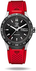 TAG Heuer CONNECTED Luxury Smart Watch (Compatible with Android/iPhone) (Red)