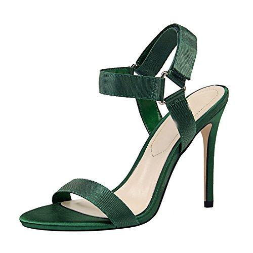 Miyoopark MiyooparkUK Green Femme DS833 Spartiates 1 SSwTFx