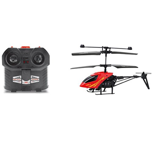 Welcomeuni RC 902 3.5CH Mini helicopter Radio Remote Control Aircraft Micro 3.5 Channel Red