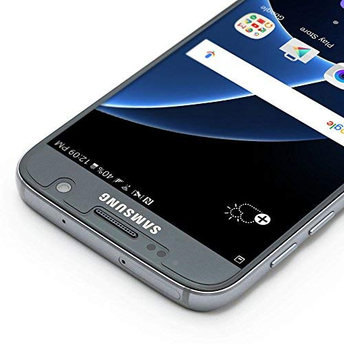 Protector de pantalla ArmourSuit para Samsung Galaxy S7 Amigable con el protector de pantalla MilitaryShield para Galaxy S7 - Película HD transparente contra burbujas