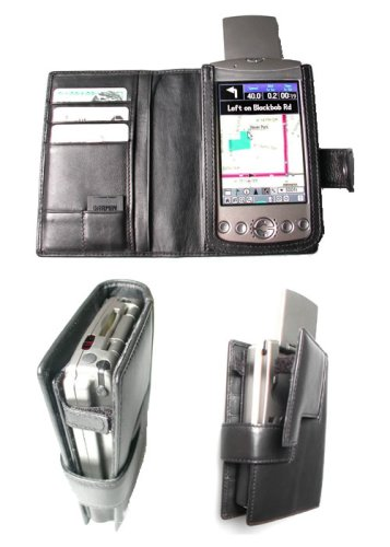 Gilsson Leather Carrying Case for Garmin iQue 3200, 3600 PDA
