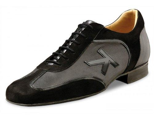 Werner Kern Mens 28028 Black Suede/Texture (Comfort Line) - American 7 / European 5.5 by Werner Kern